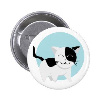 Cute Kitten Pinback Button
