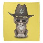 Cute Kitten Sheriff Bandana
