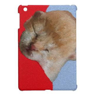 Cute Kitten Sleeping iPad Mini Cover