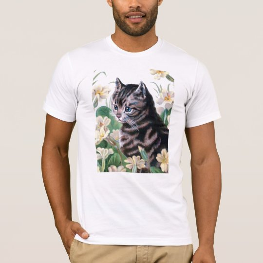 Cute kitten - vintage cat art T-Shirt