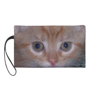 Cute Kitten Wristlet Purse