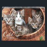 """Cute Kittens 2019 Cat Pet Photo Calendar<br><div class=""""desc"""">Cute Kittens 2019 Cat Pet Photo Calendar. A beautiful gift for cat lovers,  friends and family. This calendar features cute kitten images. Designed by www.superdazzle.com</div>"""