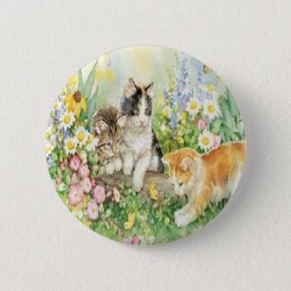 Cute Kittens Button