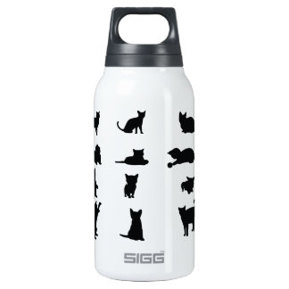 Cute Kittens Insulated Water Bottle