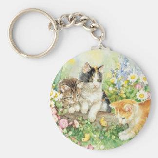 Cute Kittens Key Chain