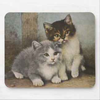 Cute Kittens Mouse Pad