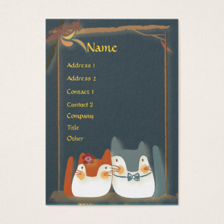 Cute Kittens Veterinarian Business Cards