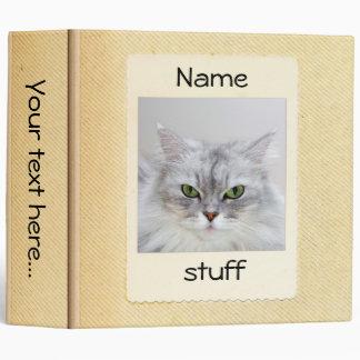 "Cute kittie Binder 2"""