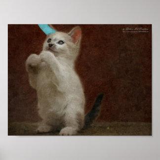 Cute Kittie Poster