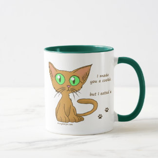 Cute Kitty Ate Your Cookie Mug