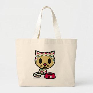 Cute Kitty Jumbo Tote Bag