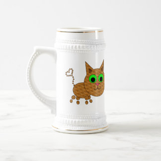 Cute Kitty Beer Stein