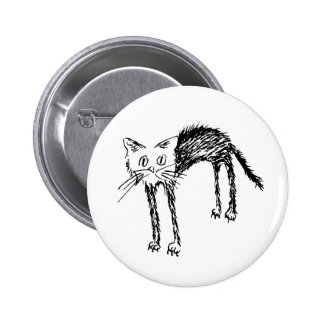 Cute Kitty Pinback Buttons