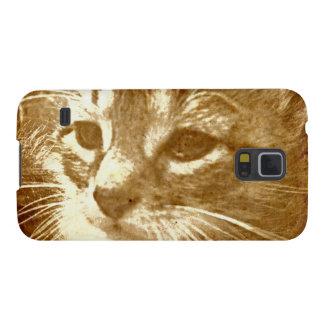 Cute Kitty Galaxy S5 Covers