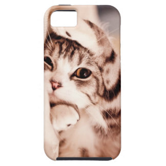 Cute kitty Case Mate Tough iPhone 5 Covers