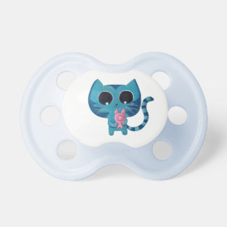 Cute Kitty Cat and Pig Pacifier