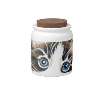 Cute Kitty Cat Candy Jars