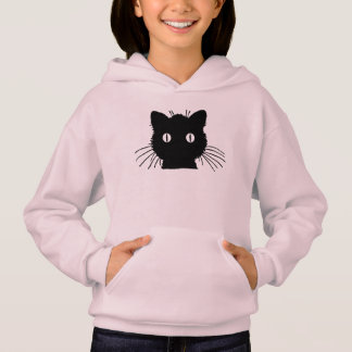 Cute Kitty Cat Head Hoodie