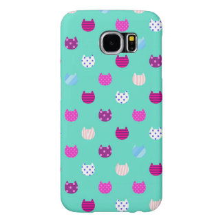 Cute Kitty Cat Samsung Galaxy S6 Barely There Samsung Galaxy S6 Case