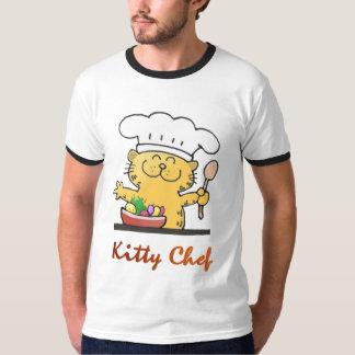 Cute Kitty Chef T-Shirt
