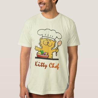 Cute Kitty Chef Tshirt