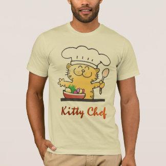Cute Kitty Chef Tshirt| Kitty Love To Cook Tshirt
