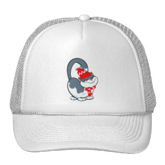 Cute Kitty . Christmas Gift  Hat Hats