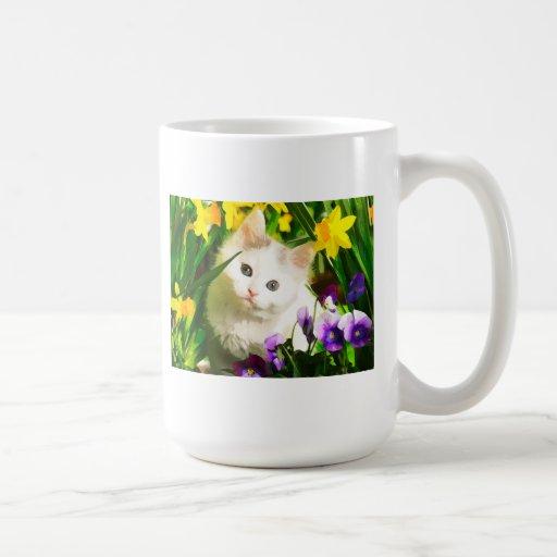 Cute Kitty Coffee Mug