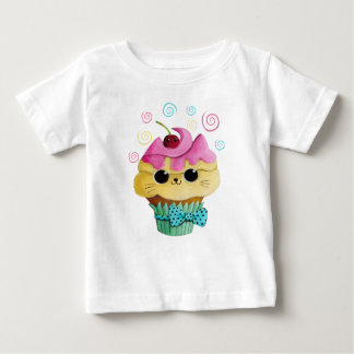 Cute Kitty Cupcake Baby T-Shirt