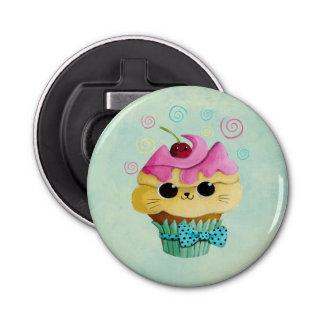 Cute Kitty Cupcake Bottle Opener