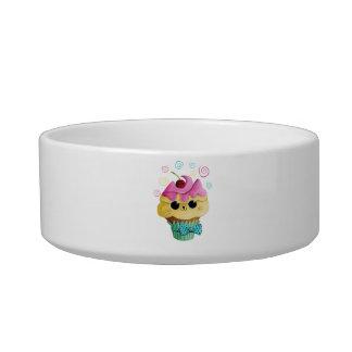 Cute Kitty Cupcake Bowl