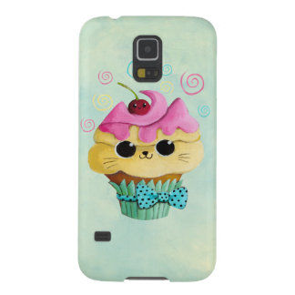 Cute Kitty Cupcake Case For Galaxy S5