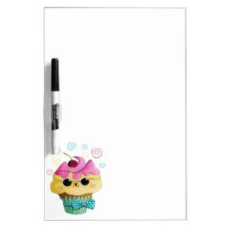 Cute Kitty Cupcake Dry-Erase Board