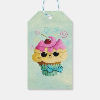 Cute Kitty Cupcake Gift Tags
