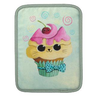 Cute Kitty Cupcake Sleeves For iPads