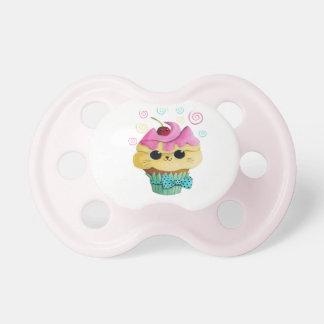 Cute Kitty Cupcake Baby Pacifier