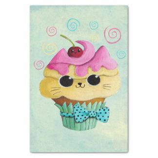 Cute Kitty Cupcake Tissue Paper