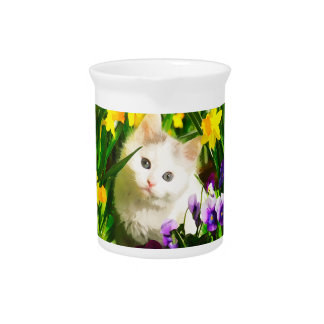 Cute Kitty Drink Pitchers