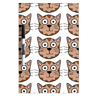 Cute Kitty Dry-Erase Boards