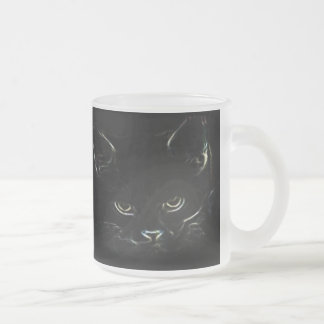 Cute Kitty Frosted Mug
