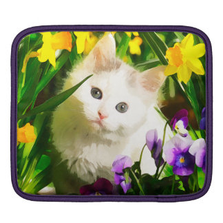 Cute Kitty iPad Sleeve
