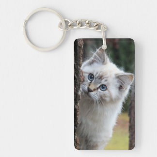 Cute Kitty Keychain