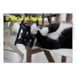 Cute Kitty (Not) Hallowe'en card