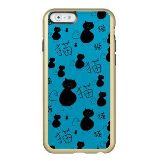 Cute kitty pattern incipio feather® shine iPhone 6 case