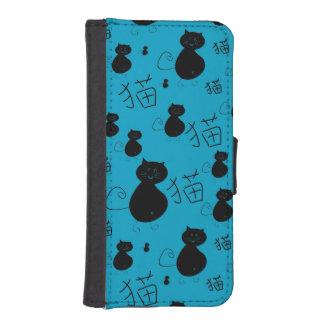 Cute kitty pattern iPhone SE/5/5s wallet