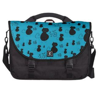 Cute kitty pattern laptop computer bag