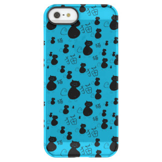 Cute kitty pattern permafrost® iPhone SE/5/5s case