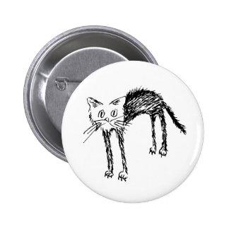 Cute Kitty Pinback Button