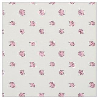 Cute Kitty Print Fabric