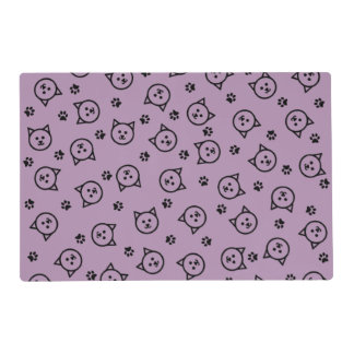 Cute Kitty Print Placemat